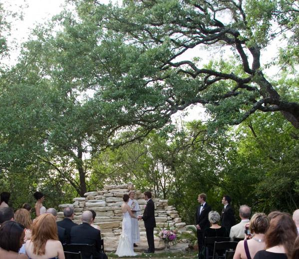 Wedding Reception Austin Tx: House On The Hill