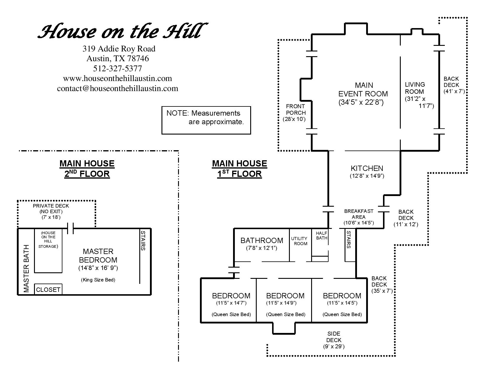 Maps Amp Floor Plans House On The Hill
